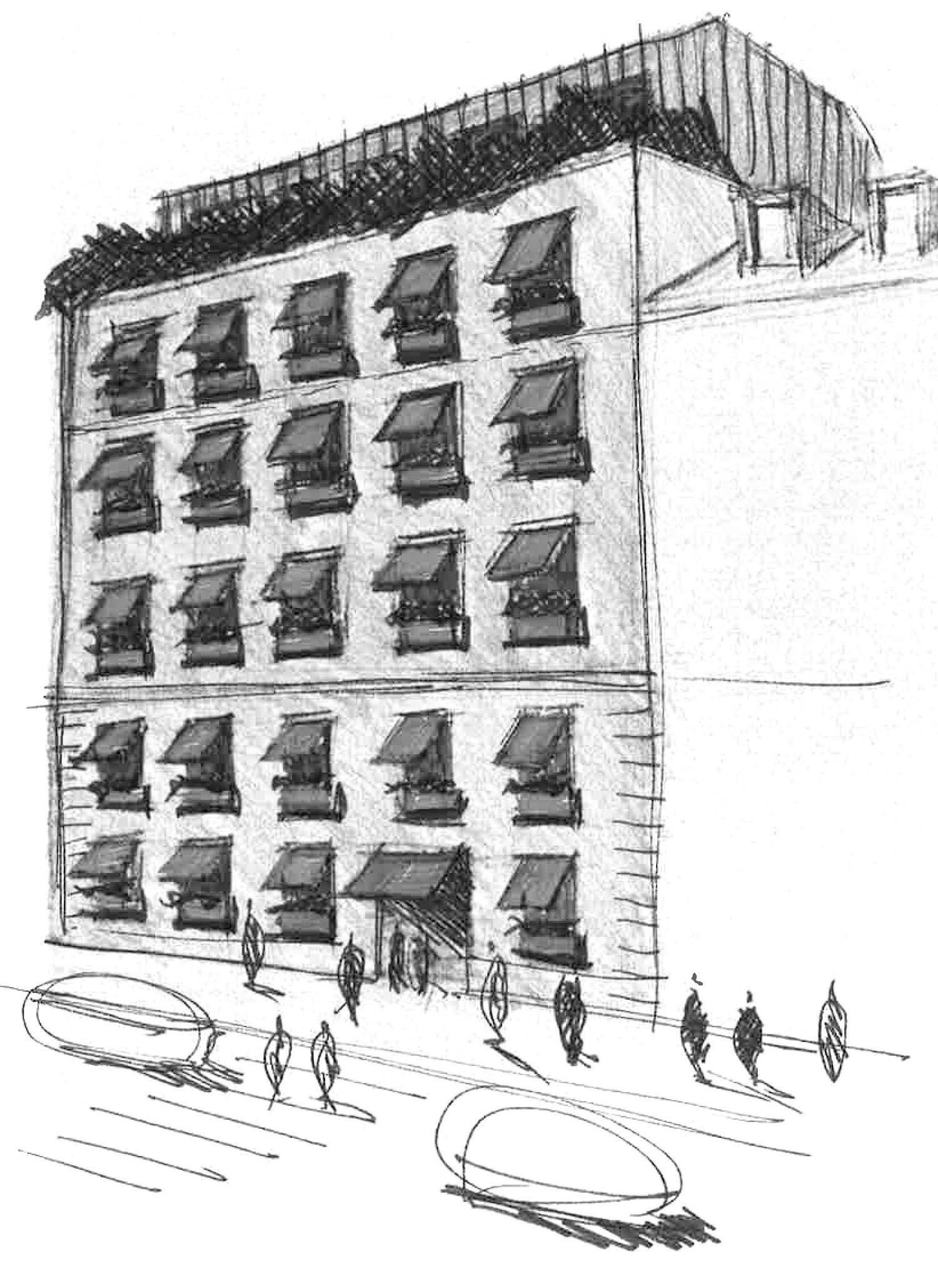 Silvio d'Ascia Architecture – Hôtel Wallace