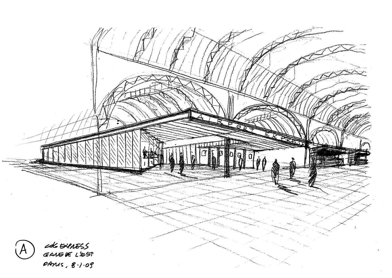 Silvio d'Ascia Architecture - CDG Express