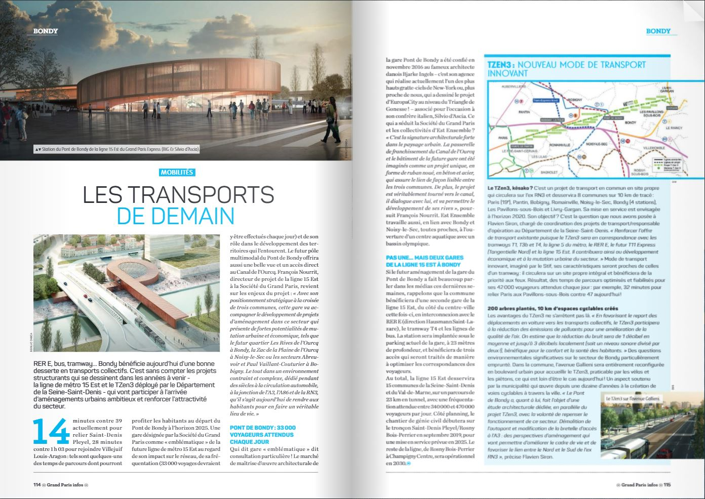 Grand Paris Infos - Les transports de demain