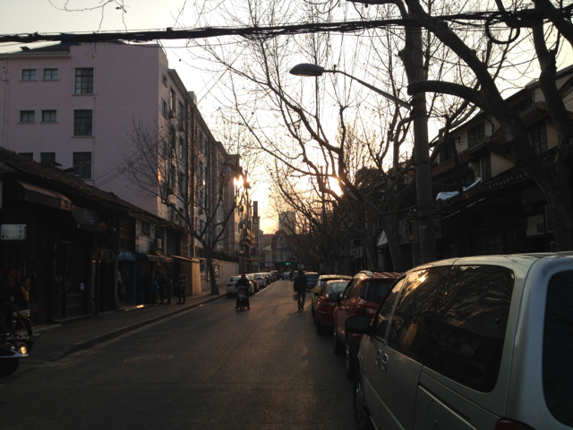 The French Concession area in Shanghai is said to have a distinct character.