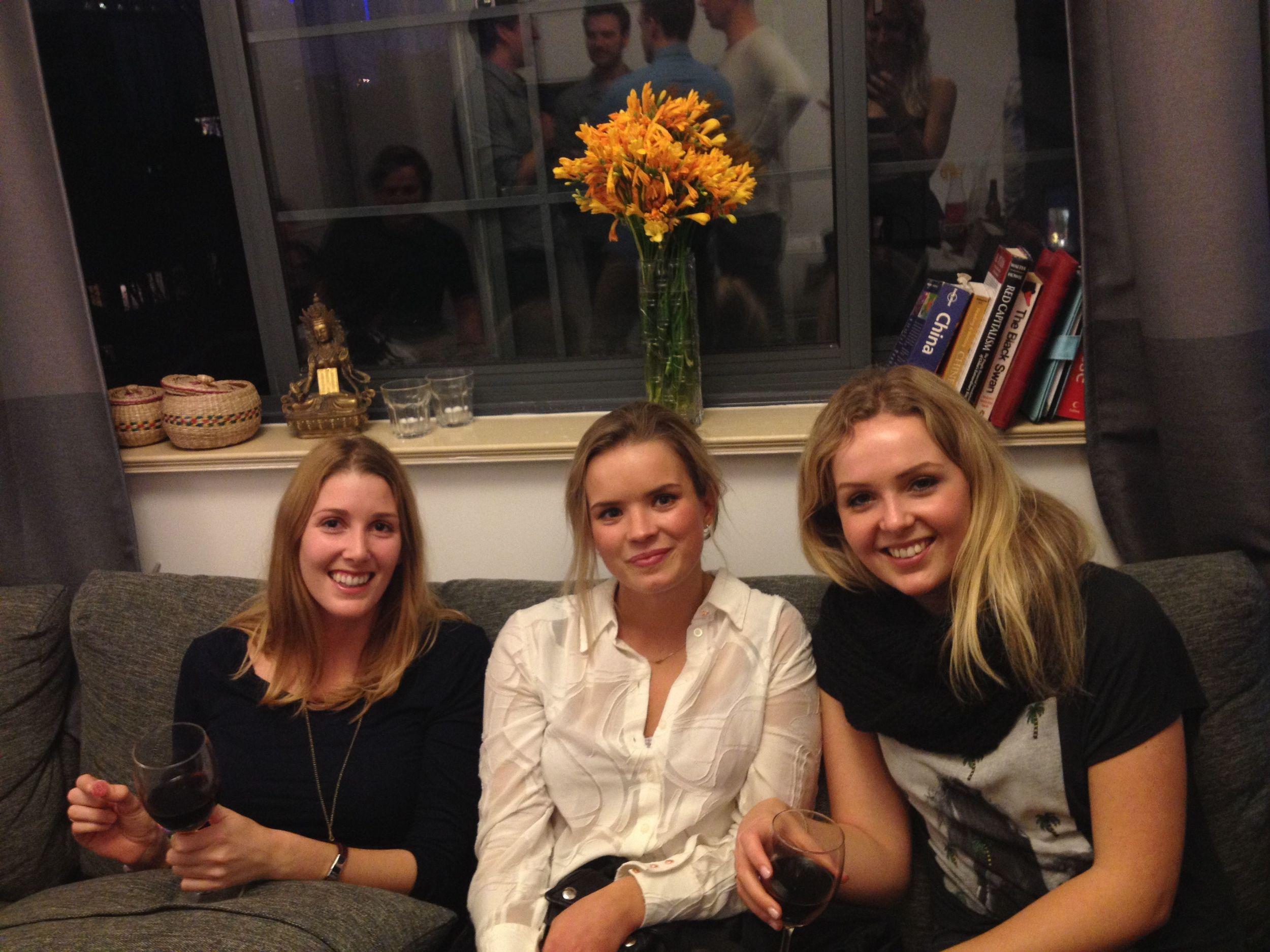 Charlot, Janie and Liv