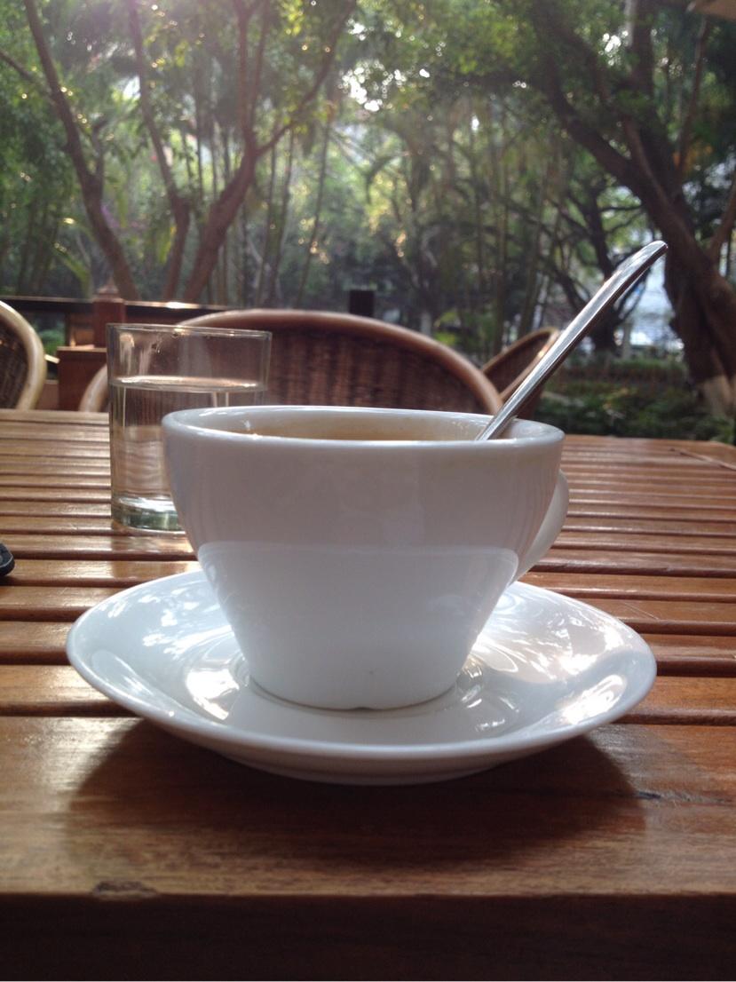 Yunnan coffee at the renowned Mei Mei cafe in Jinghong