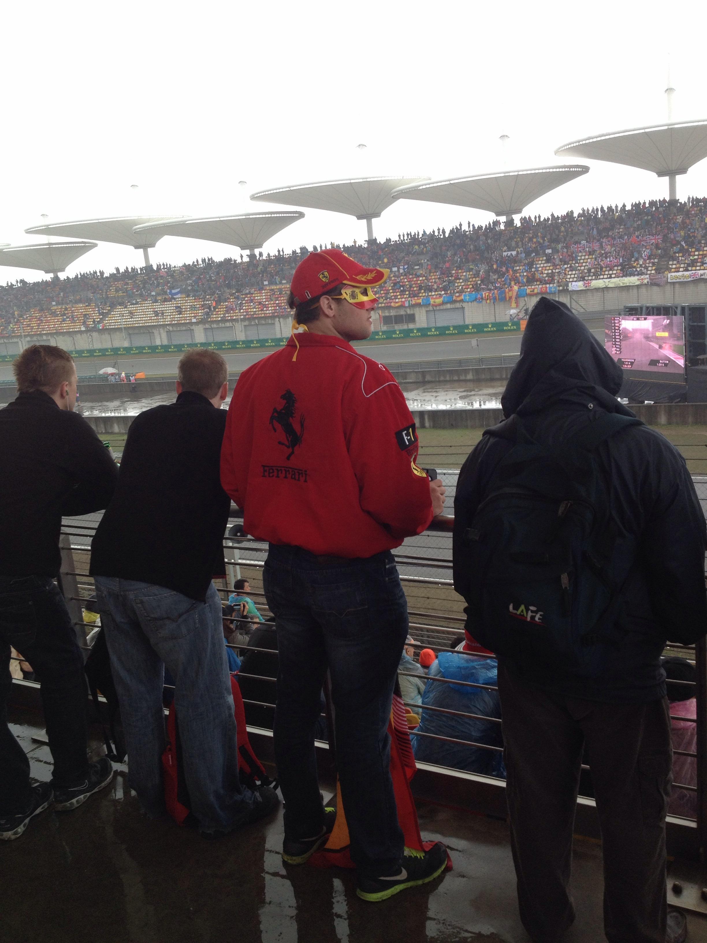 Or all in on Ferrari...