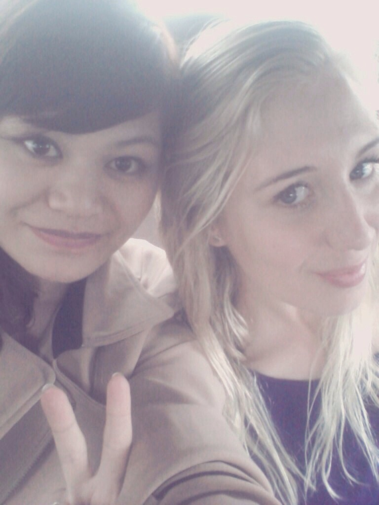 Me and Anika heading back after a very interesting and beautiful Chinese wedding