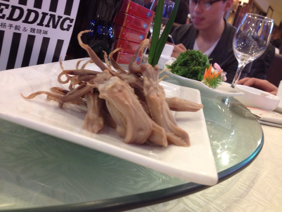 duck tongues. yes duck tongues
