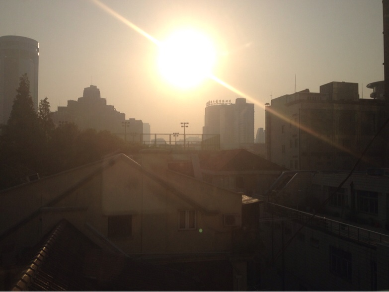 6.20 and the sun looks like it has been up for at least an hour
