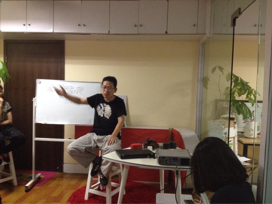 Frank Feng the director of hangzhou Buddhist studies