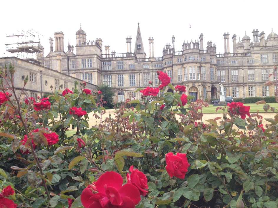 The famous Burghley House in Stamford which was build in the middle of the 15th hundred century