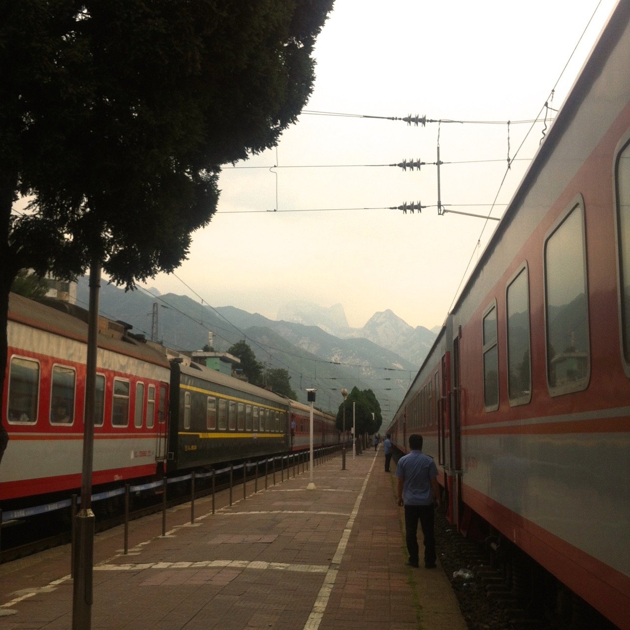 Huashan Station.