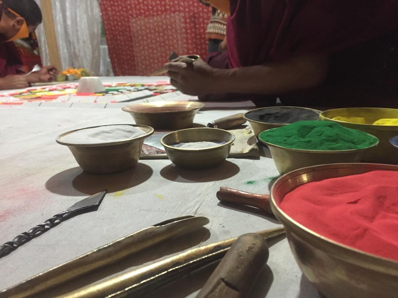 Mandala equipment
