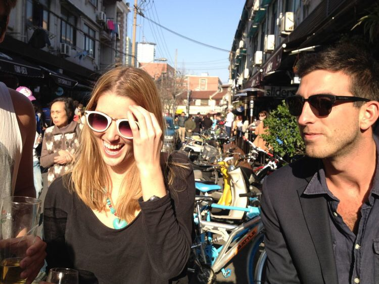 Charlotte, Matt & sweet memories from Yongkang Lu