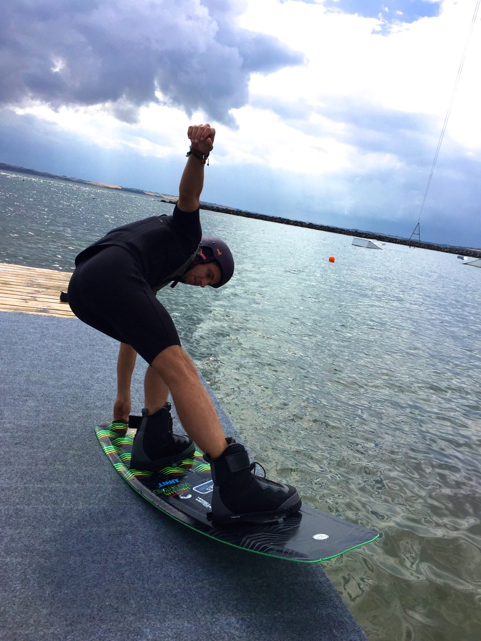 At Thy Cable Park in Thisted