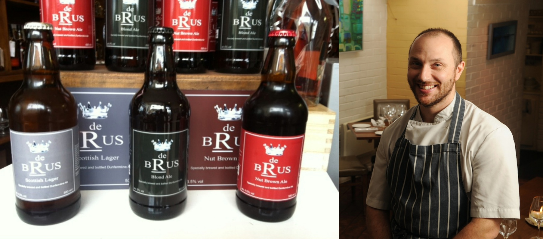 Local beers and Craig's food - a match made in heaven!