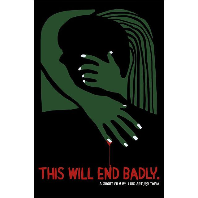 Check out the beautiful new poster for our film This Will End Badly, an original artwork produced by Shanghai-based artist LENA @lena99li. We'll be printing a limited run of these, get in touch if you'd like to buy one to support our independent film! Next stop: The Hollywood Comedy Shorts Film Festival in Los Angeles!  #hollywoodcomedyshorts #hcsff #losangeles #thiswillendbadly #shortfilm #zombie #horror #comedy #indie #indiefilm #movieposter #daedalumfilms