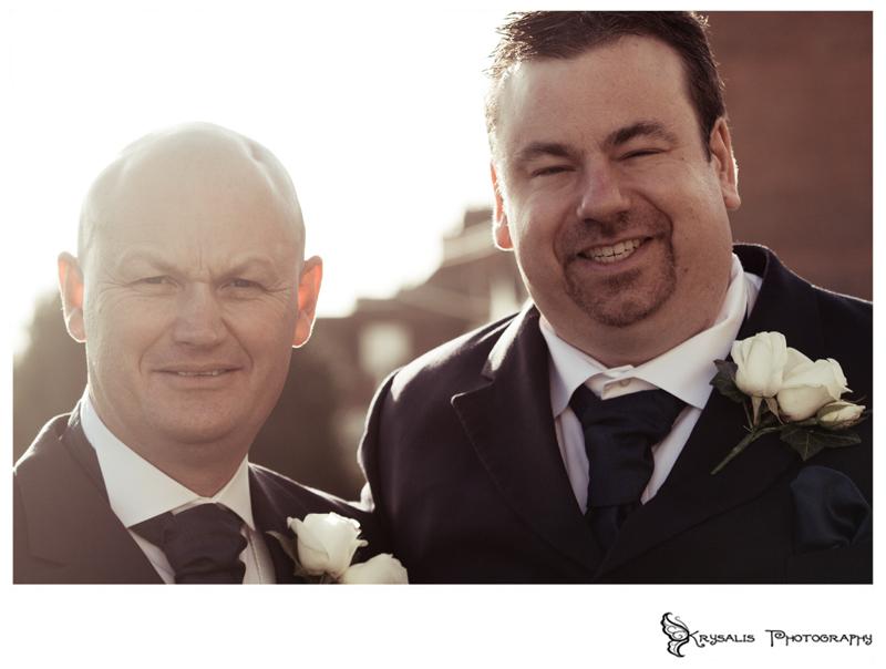 Bestman and Groom in Arundel