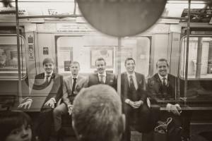 Groomsmen on the Underground