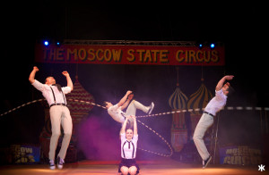 Moscow State Circus Skipping Act