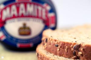 Ma'amite and Seedy Bread