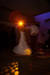 First dance at a wedding