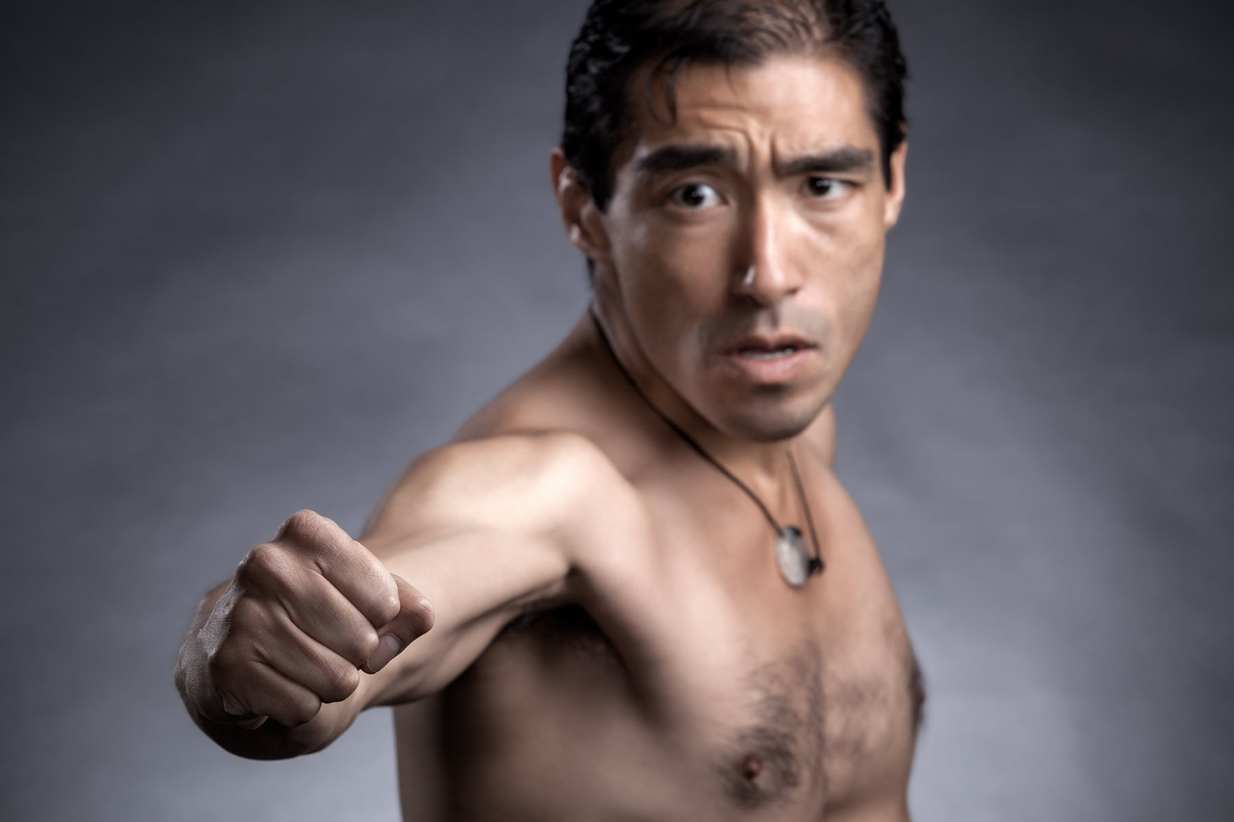 Bruce Lee punch