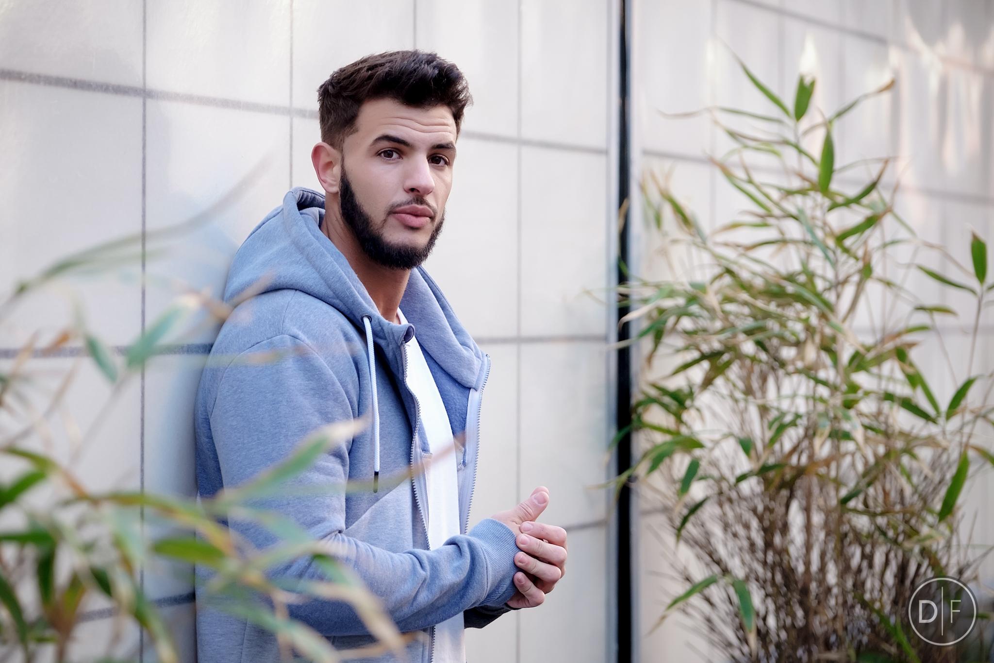 Male in hoodie