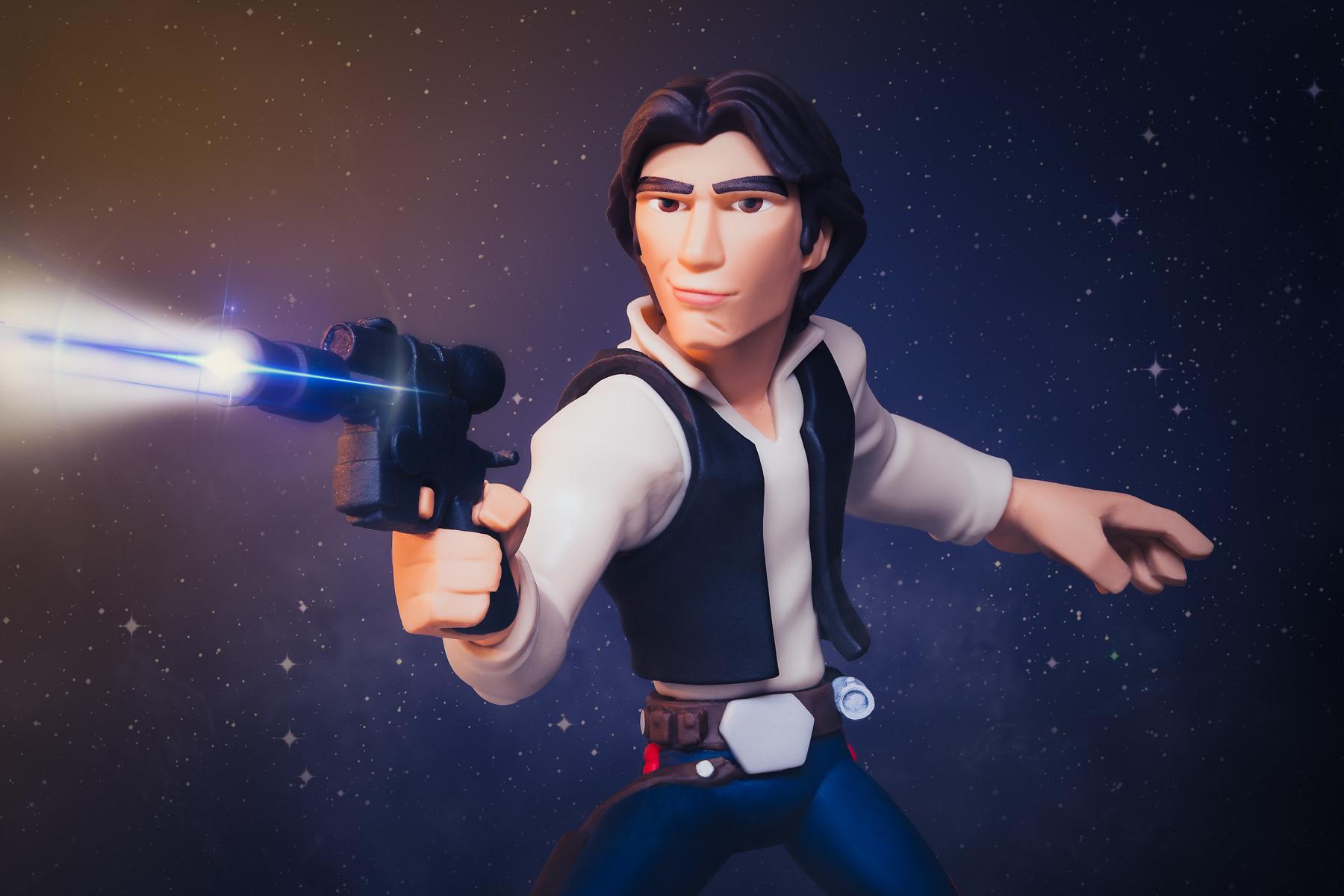 Disney Infinity Star Wars Han Solo