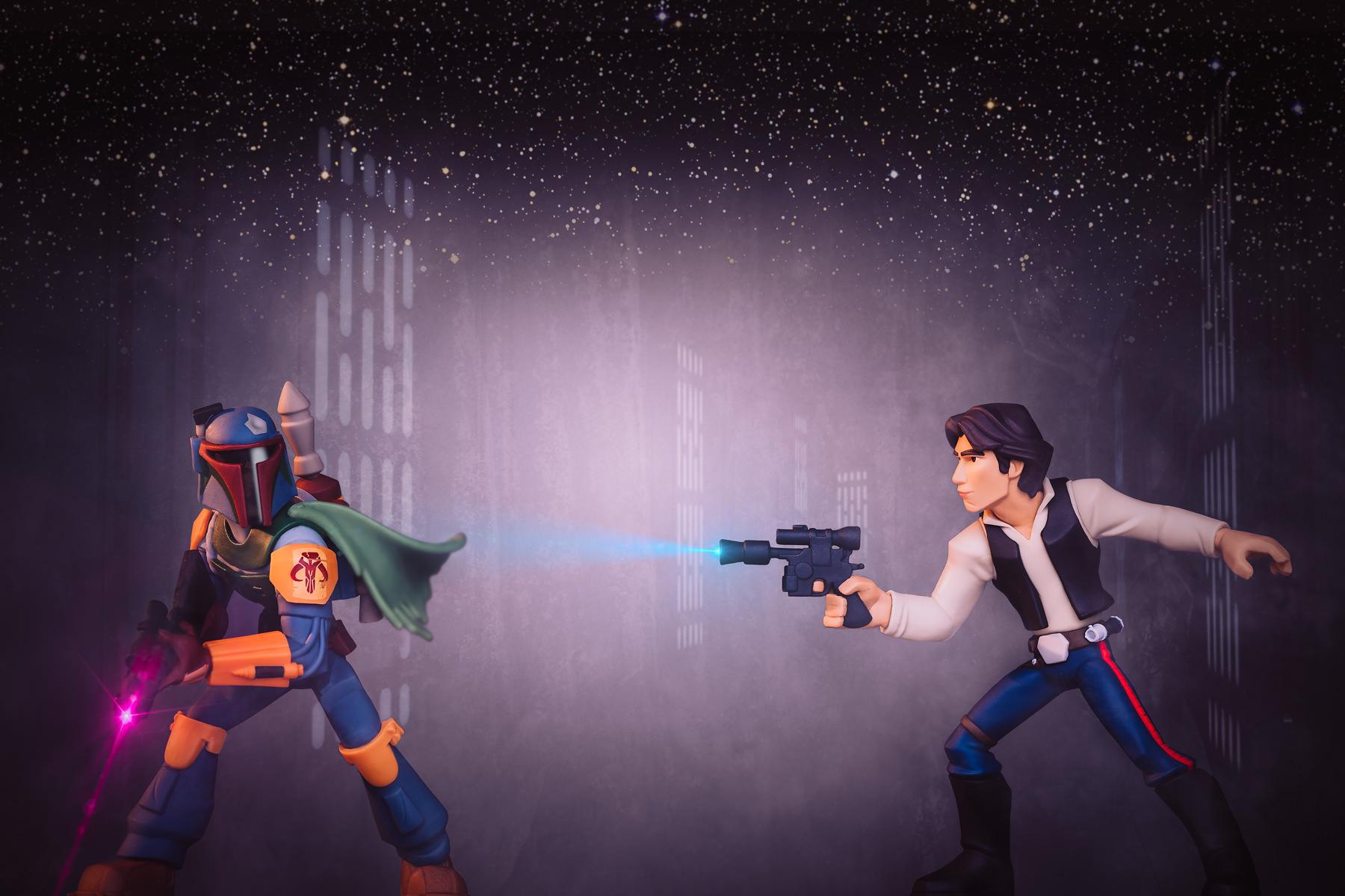 Disney Infinity Star Wars Boba Fett Vs Han Solo