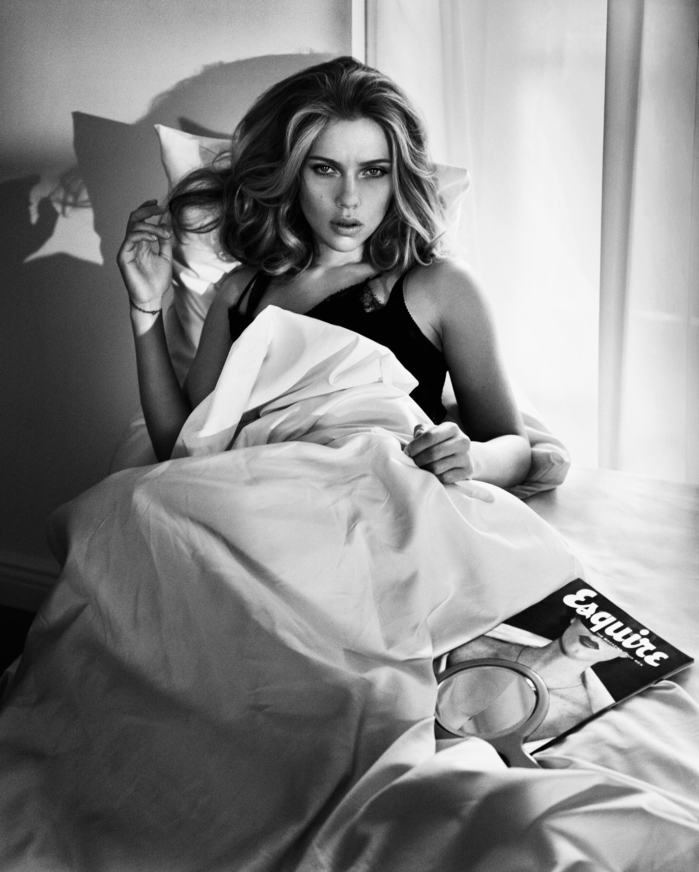 © The Light Between Us by Vincent Peters, to be published by teNeues in September 2014, € 98 -   www.teneues.com  .    Scarlett Johansson,   Photo © 2014 Vincent Peters. All rights reserved.