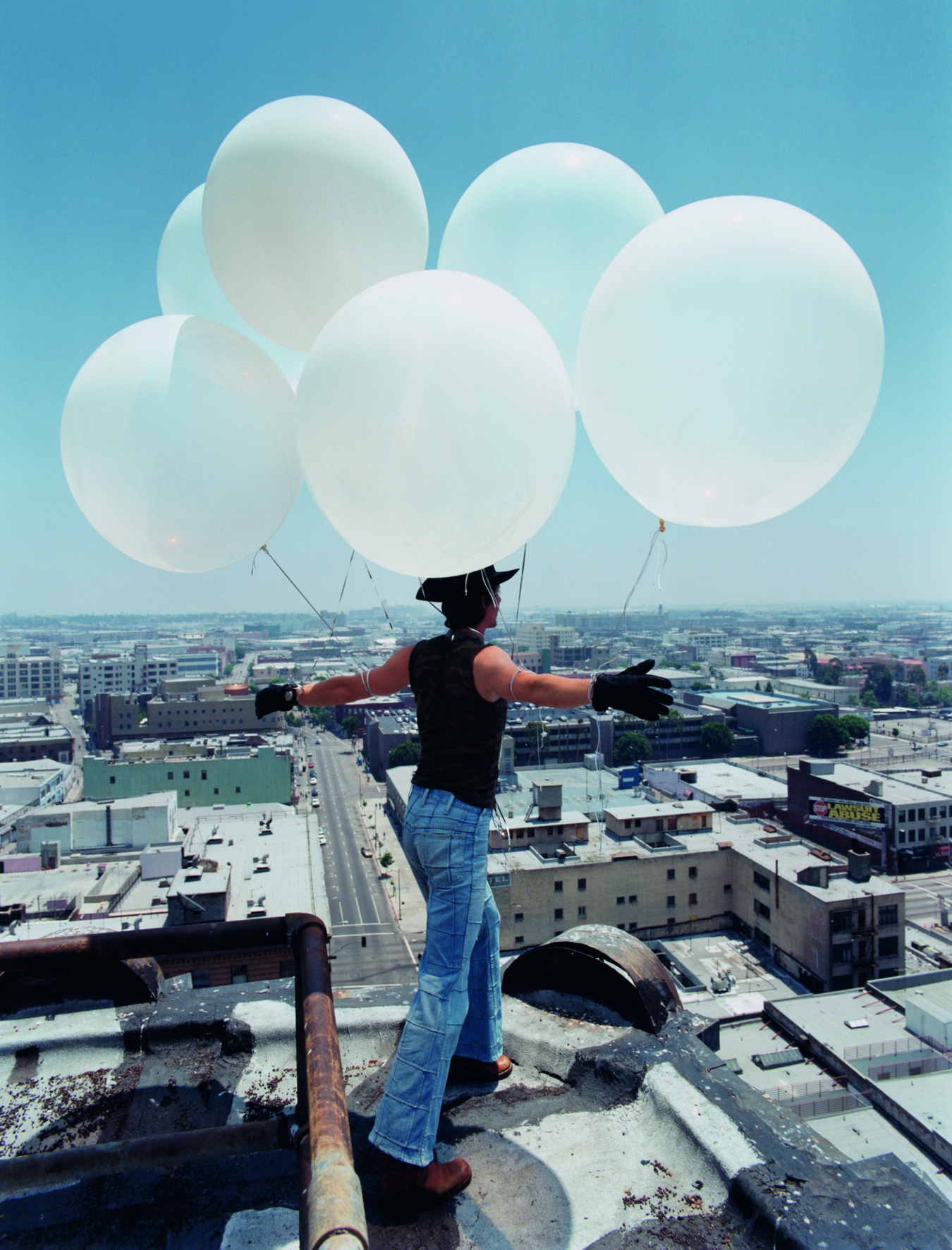 © Nothing Beats Reality by Pierre Winther, to be published by teNeues in March 2015, € 98 -   www.teneues.com  .   Trust, Balloon Boy, 1997 -   Photo © 2014 by Pierre Winther. All rights reserved.   www.pierrewinther.com