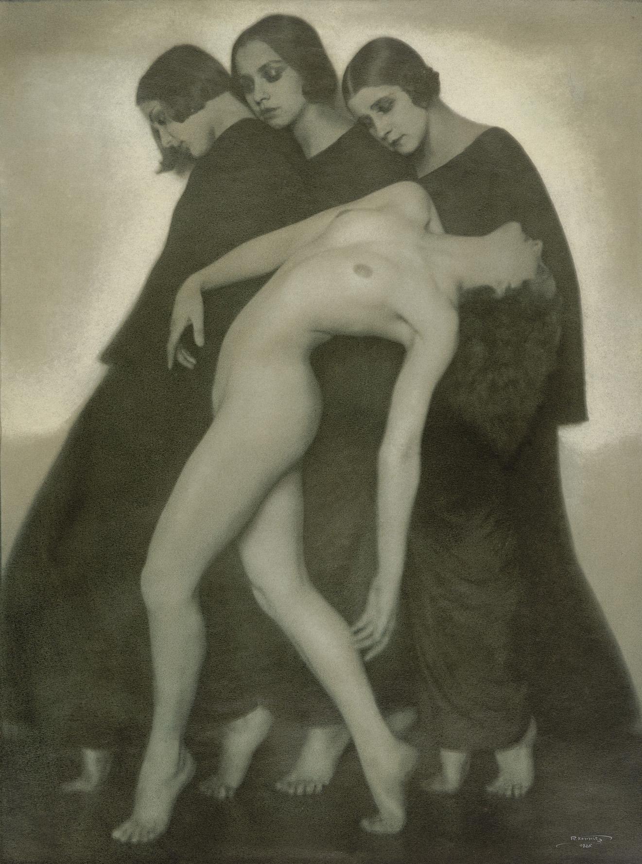 Rudolf Koppitz Bewegungsstudie, um 1925 © Albertina, Wien - Dauerleihgabe der Höheren Graphischen Bundes-Lehr-und Versuchsanstalt