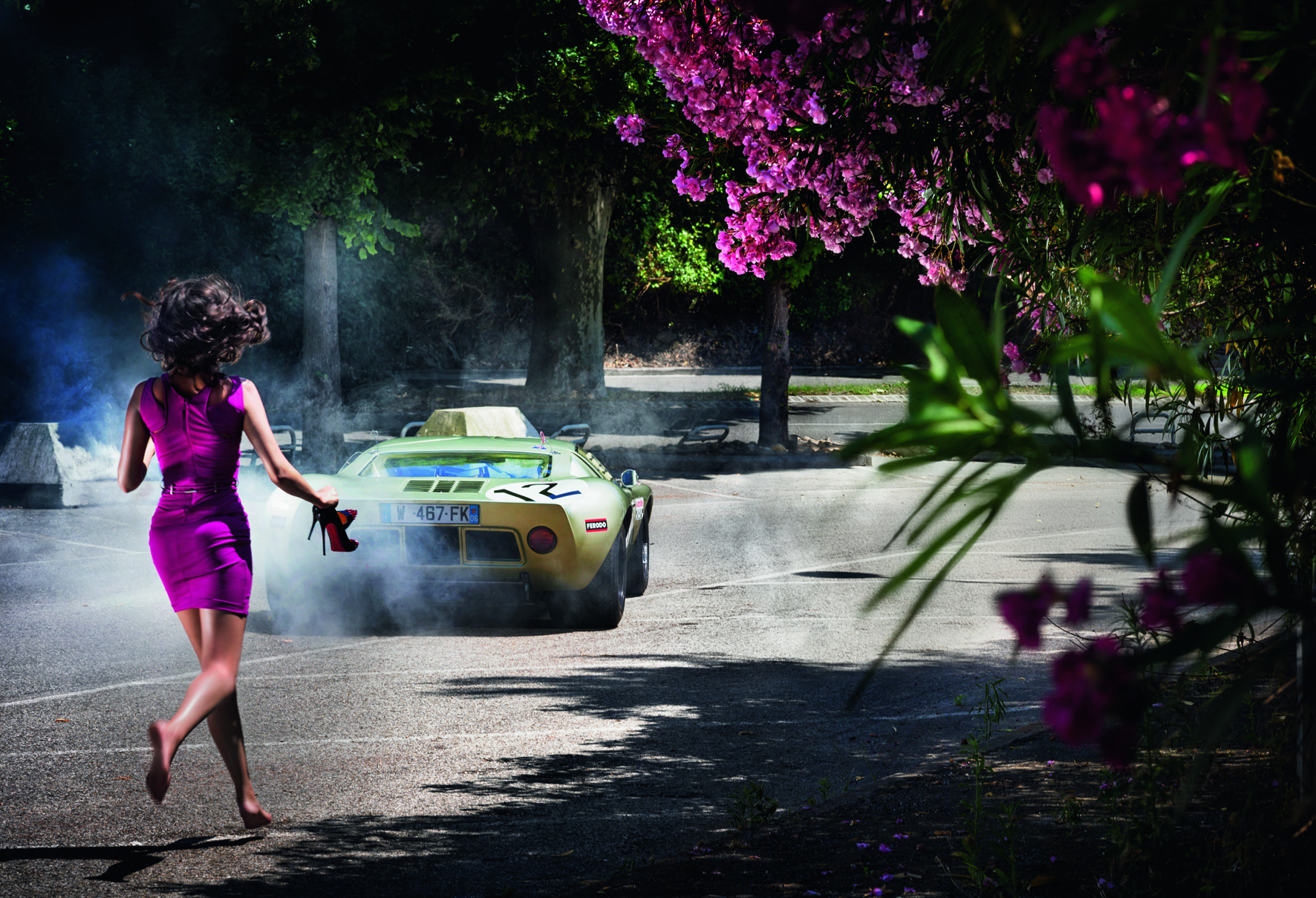 © Chasing Paradise by David Drebin, published by teNeues, www.teneues.com. Wheels and Heels, 2013, Photo © 2015 David Drebin. All rights reserved.