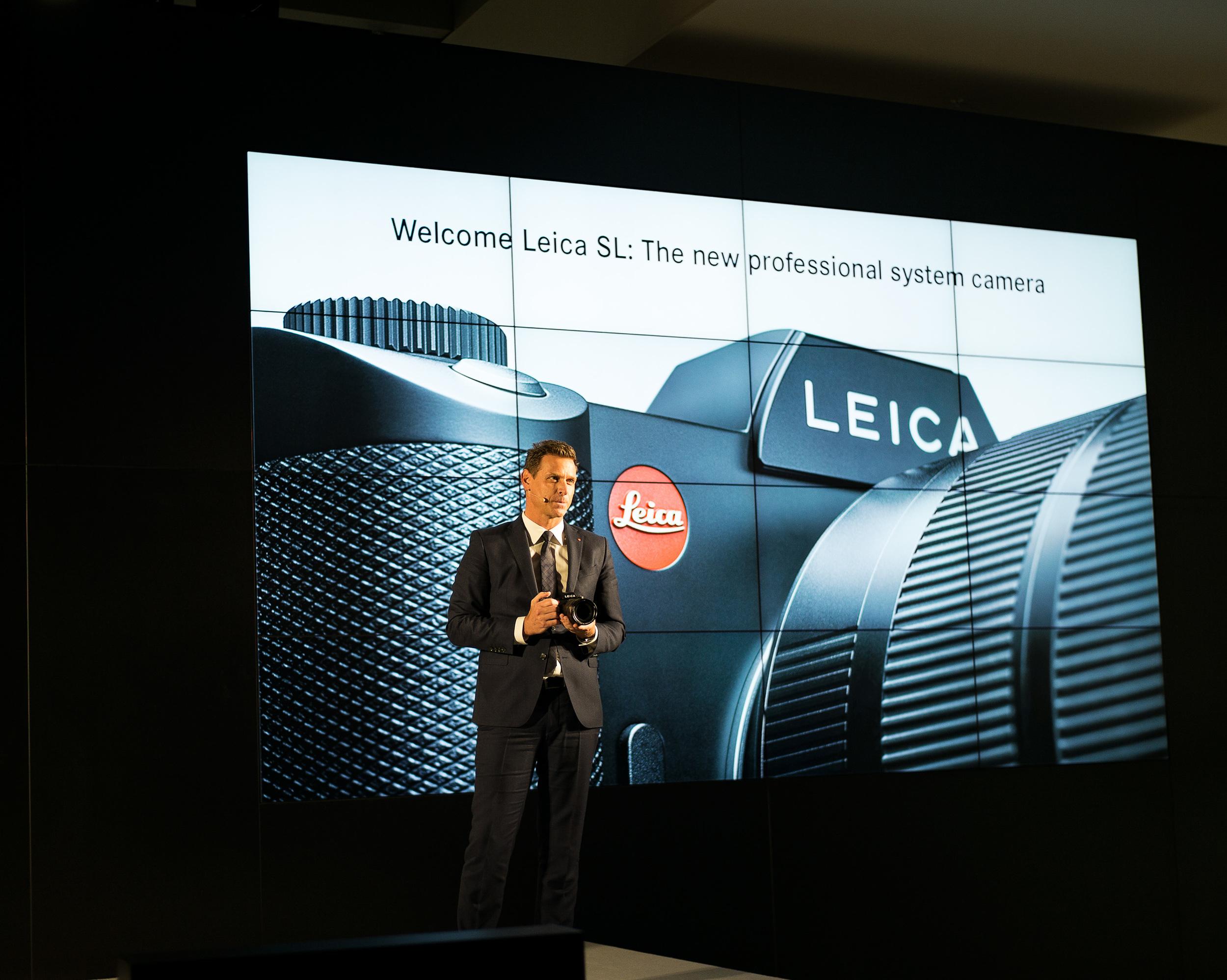 Leica CEO Oliver Kaltner