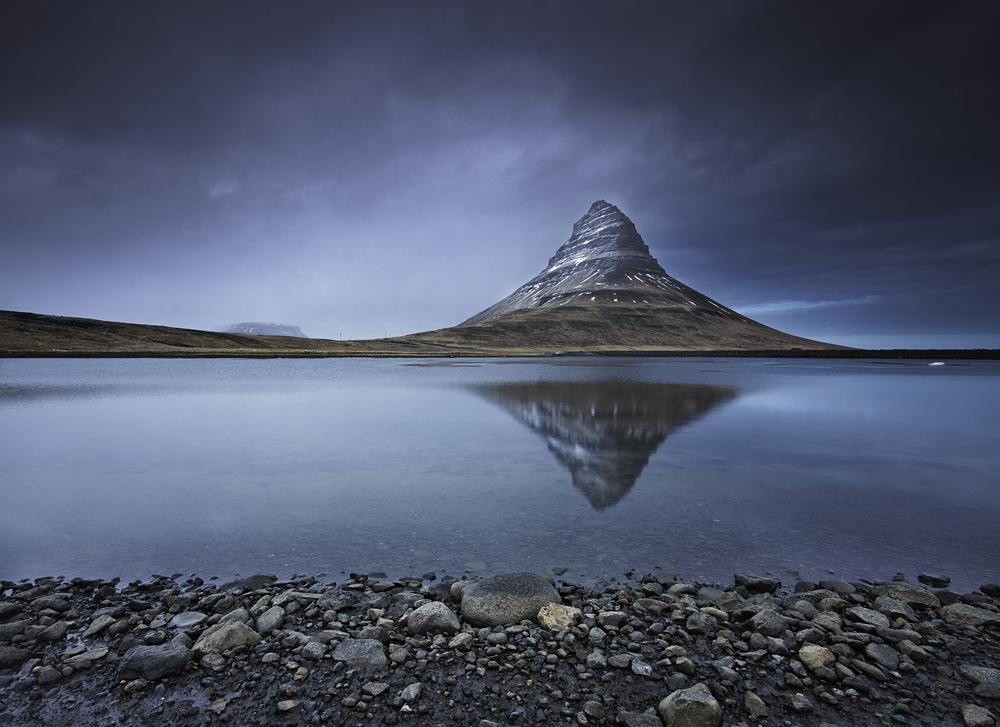 Kirkjufell, Kirkjufell, West Iceland,   Photo © 2015 Fokion Zissiadis. All rights reserved.   www.fokionzissiadis.com