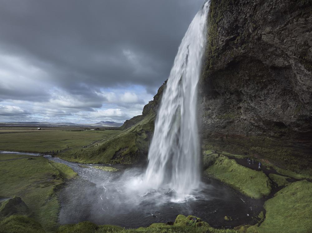 Seljalandsfoss, Seljaland Waterfall, South Iceland,    Photo © 2015 Fokion Zissiadis.  All rights reserved.   www.fokionzissiadis.com