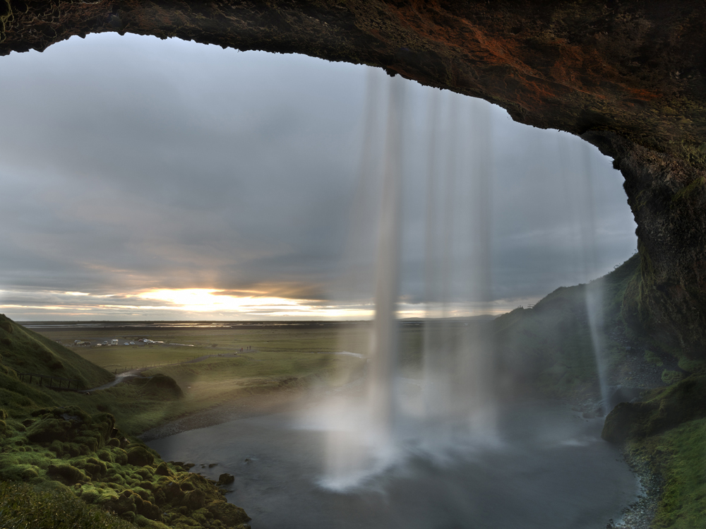 Selijalandsfoss Waterfalls 2