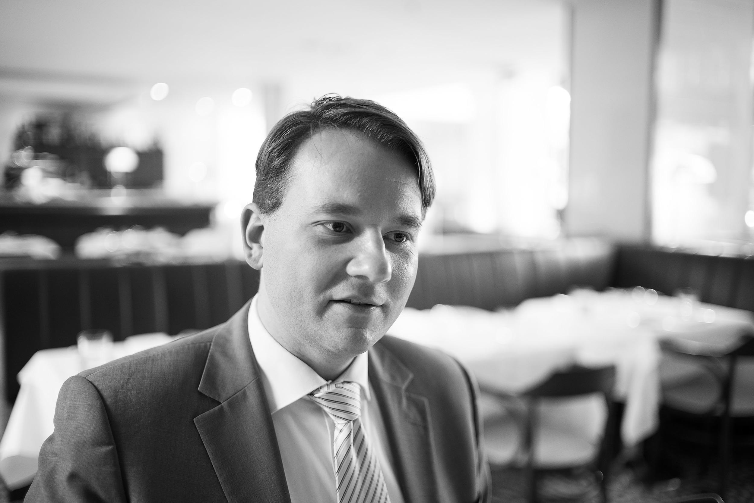 Hoteldirektor Ricardo Buttke