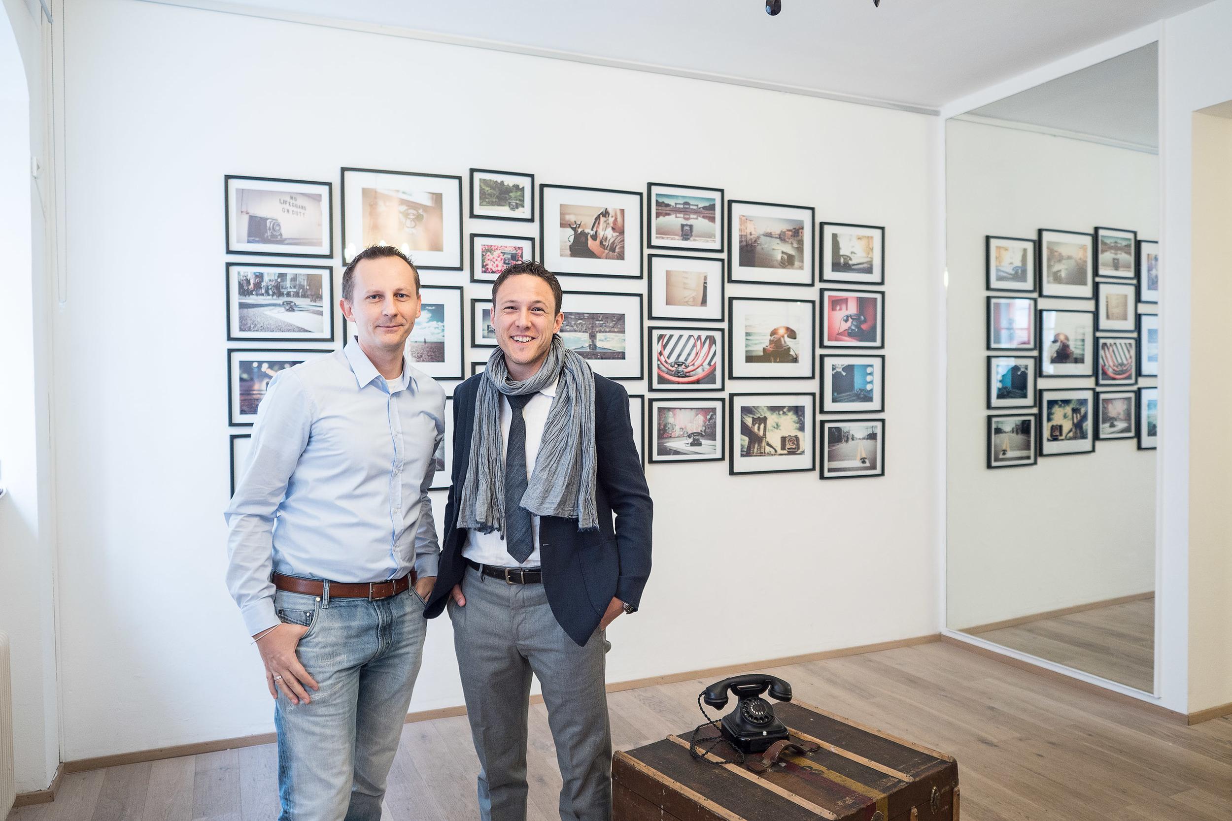 Uwe Aschauer und Martin Tesar