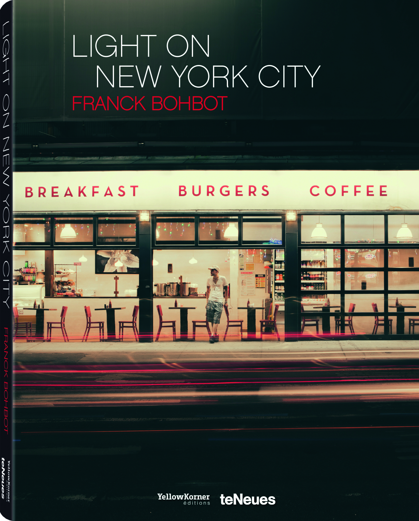 © Light On New City by Franck Bohbot, to be published by teNeues and YellowKorner in August 2016, € 49,90 - www.teneues.com, www.yellowkorner.com. Sugar Café, Lower East Side, Manhattan, 2013, Photo © 2016 Franck Bohbot/INSTITUTE. All rights reserved. www.instituteartist.com