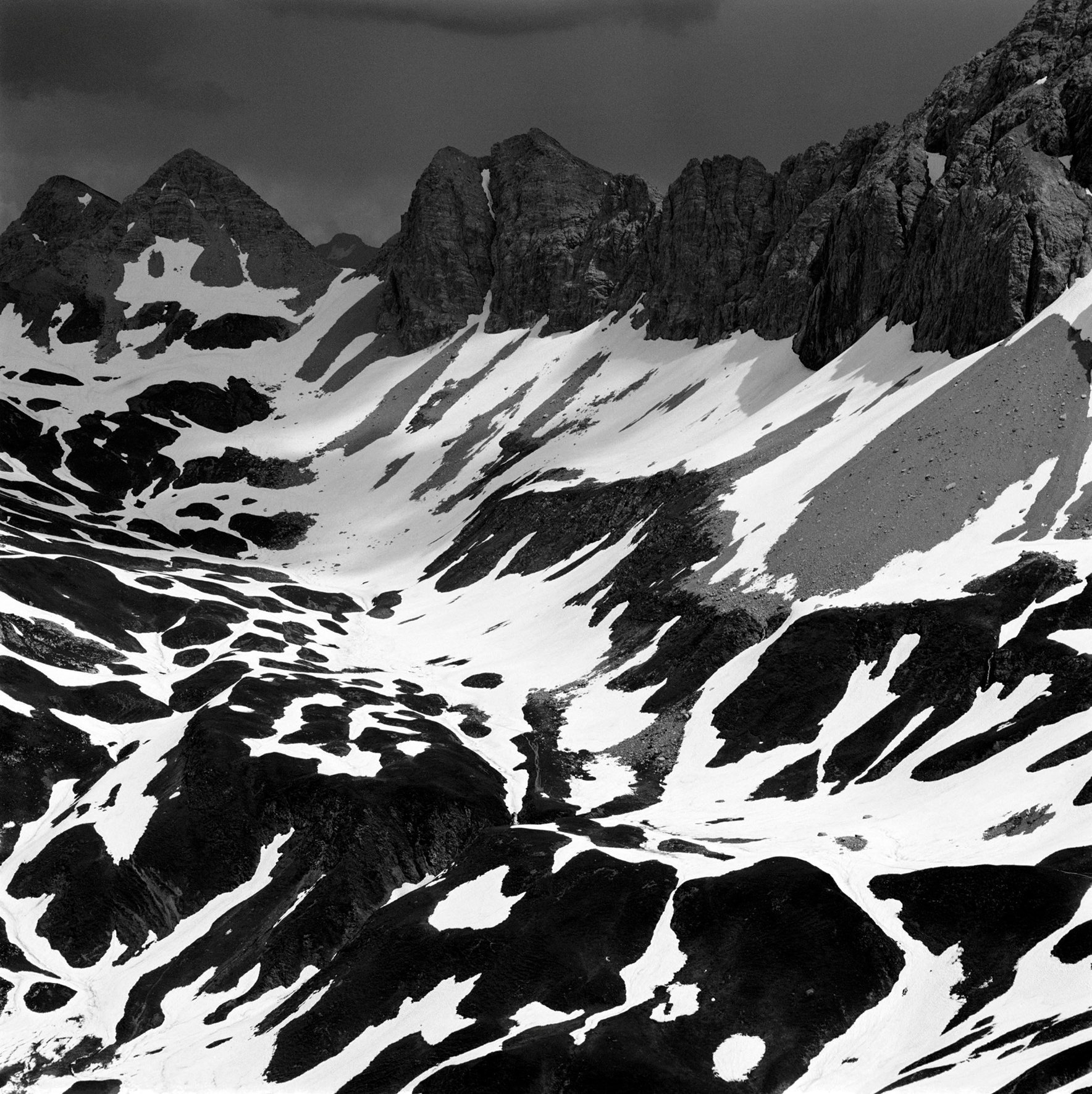 Rauhkopfscharte, Vorarlberg - 3,000m   Photo © 2016 Tim Hall. All rights reserved.  www.timhallphotography.com