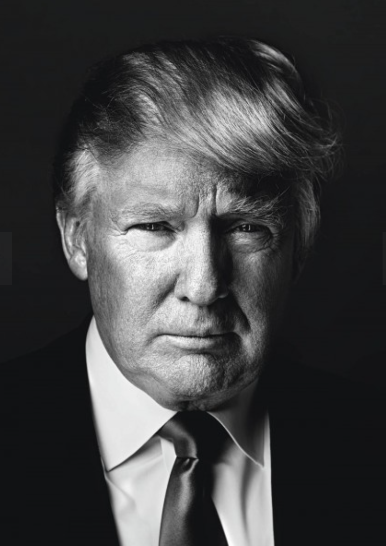 DONALD TRUMP, Businessman and TV personality, candidate for President of the United States in 2016, At his office, New York City, 2013 Photo © 2016 Marco Grob. All rights reserved.