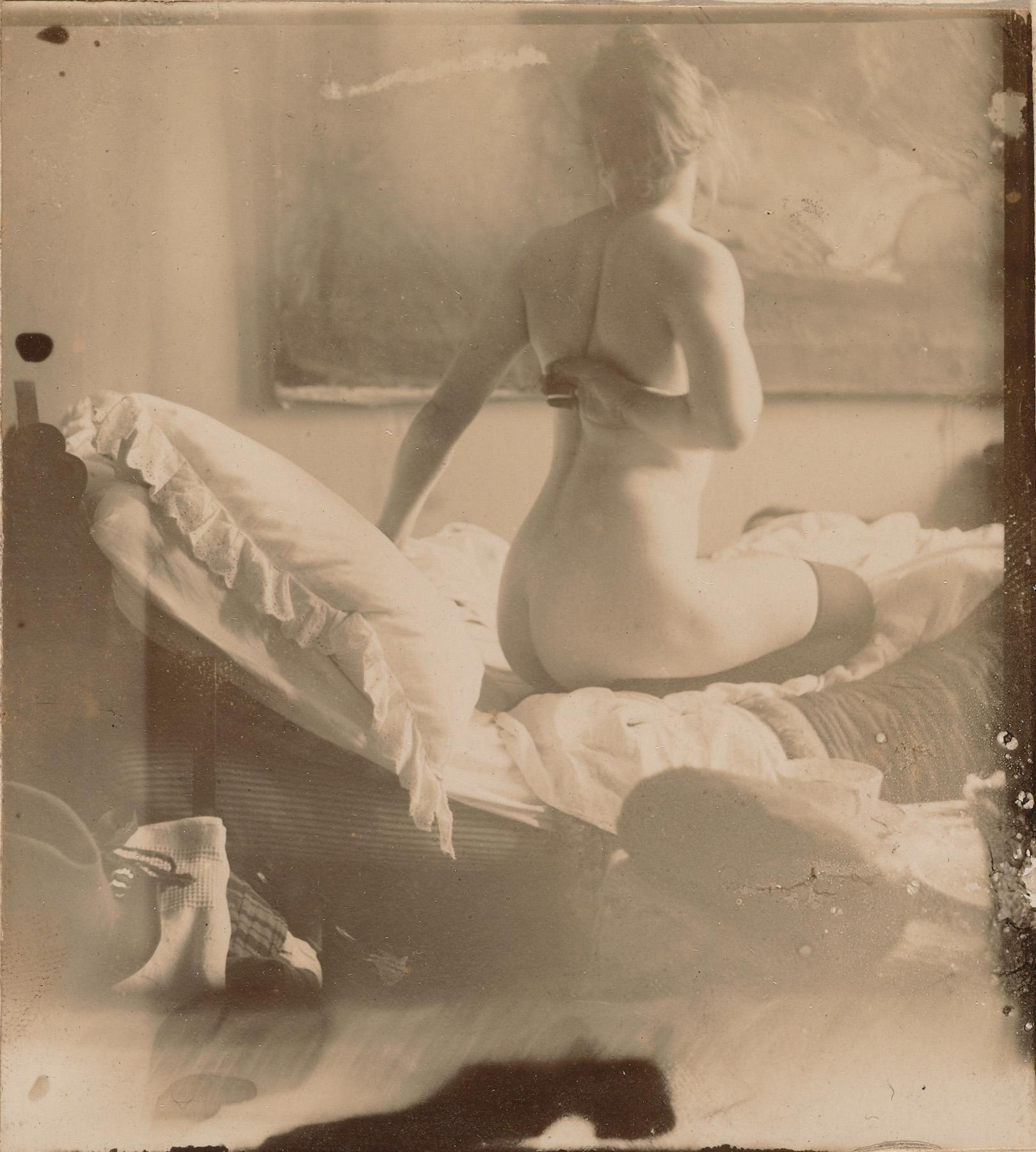 George Hendrik Breitner, Marie Jordan von hinten gesehen, 1890. Rijksmuseum, Amsterdam