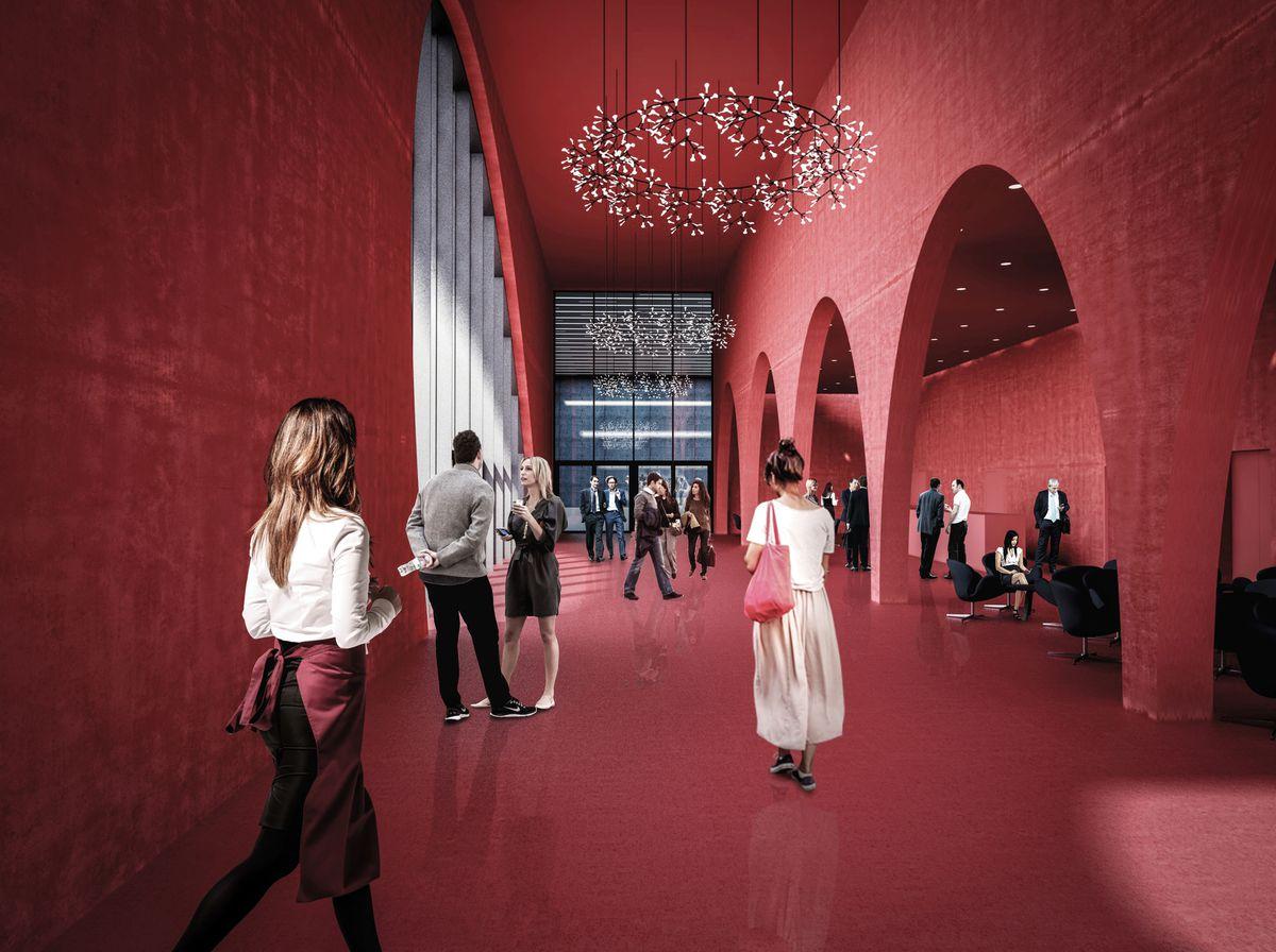 Messe Dornbirn Art Bodensee Hallen Die neuen Messehallen wurden von den Architekten Marte.Marte geplant.  Copyright: Marte.Marte