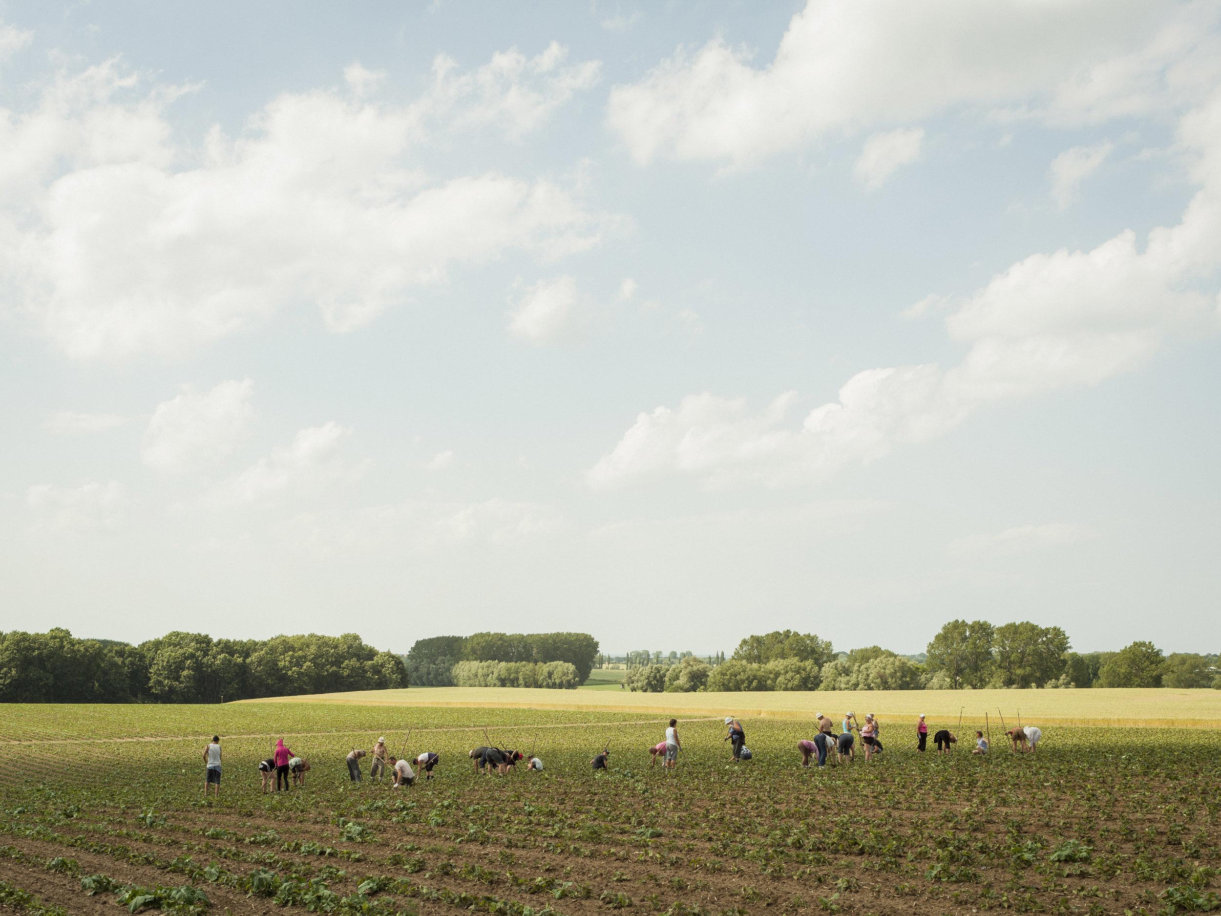 Peter Bialobrzeski: Bei Wismar, 2012. Aus der Serie: »Die zweite Heimat«, 2011-2016 © Peter Bialobrzeski