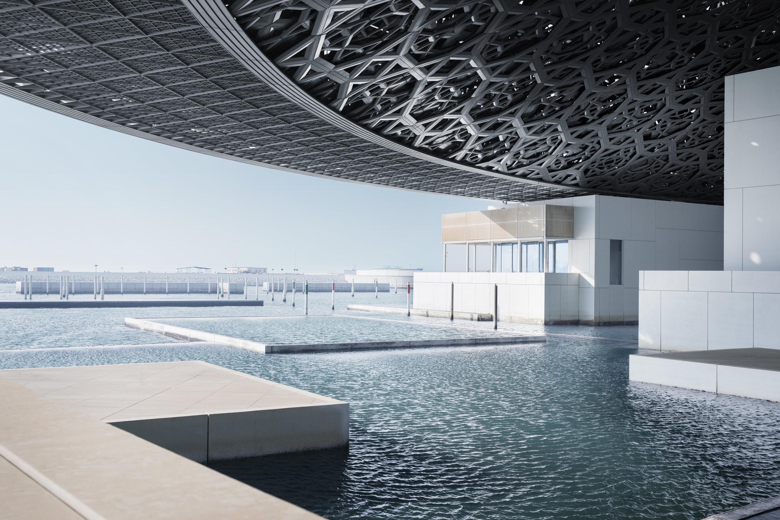 Louvre Abu Dhabi, Photography Mohamed Somji