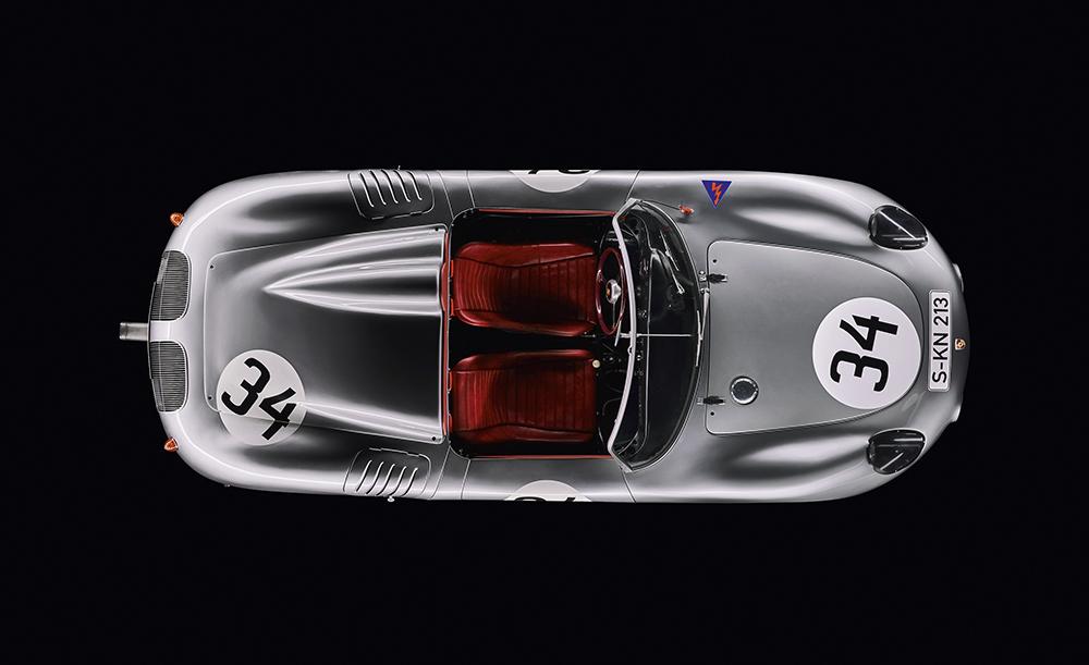 Porsche 718 RS 60 Spyder, 1960  Photo © Dr. Ing. h.c. F. Porsche AG