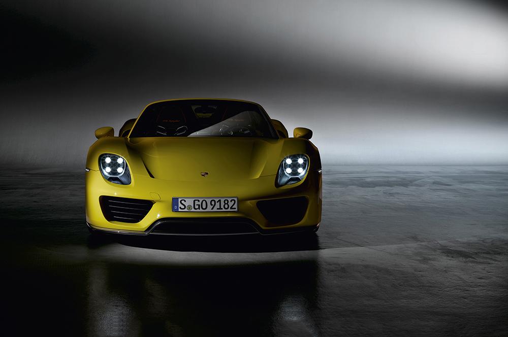 Porsche 918 Spyder, 2013   Photo © Dr. Ing. h.c. F. Porsche AG