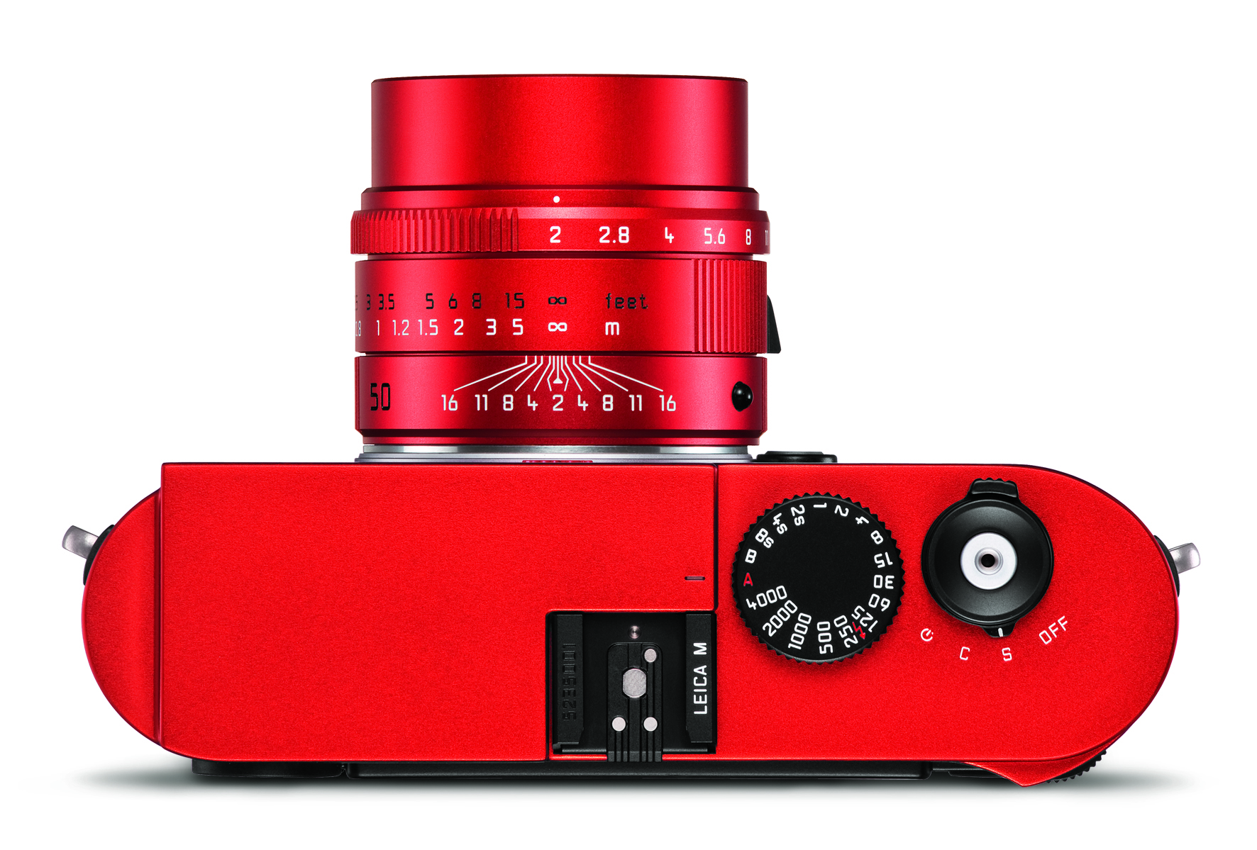 Leica M (Typ 262) red anodized finish_APO-Summicron 50 red_top.jpg