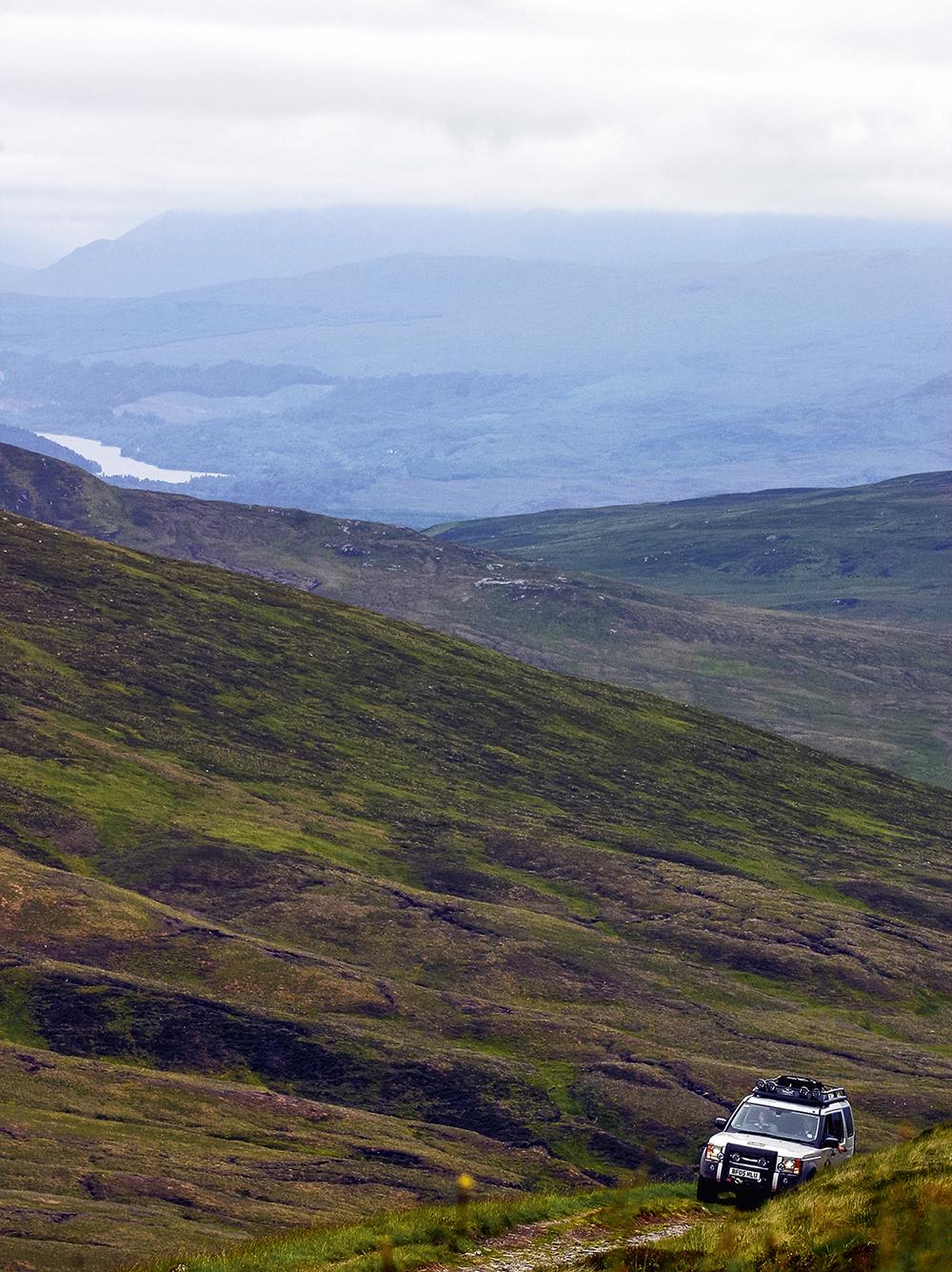 Scotland  Photo © Jaguar Land Rover Deutschland GmbH, photo: Craig Pusey