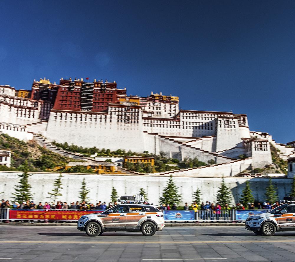 Silk Road  Photo © Jaguar Land Rover Deutschland GmbH, photo: Craig Pusey