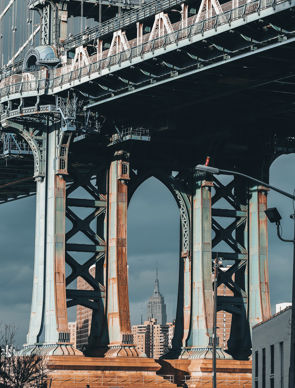 The Manhattan Bridge, Brooklyn  Photo © Pie Aerts